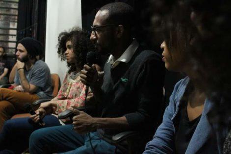 Momento Roda de Conversa com Gloria Maria e Homero Freitas. Foto: Geovanna Buccini